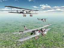 German Heavy Bomber Gotha Royalty Free Stock Images