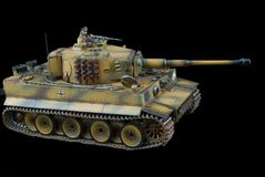 German heavy tank of World War II model Royalty Free Stock Photos
