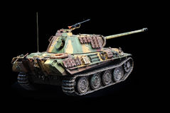 German heavy tank of WWII. model royalty free stock photos