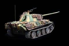 German heavy tank of WWII. model Royalty Free Stock Photos