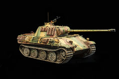 German heavy tank of WWII. model royalty free stock image