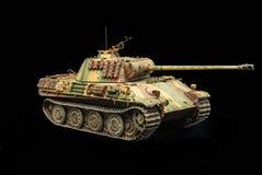 German heavy tank of WWII. model Royalty Free Stock Image