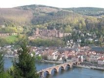 German Heidelbergu zamek Zdjęcia Royalty Free