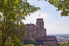 German Heidelbergu zamek Zdjęcia Stock
