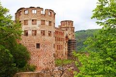German Heidelbergu zamek Obrazy Stock