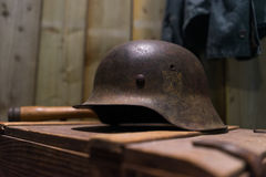 German helmet Stock Images