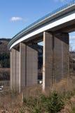 German highway bridge Royalty Free Stock Photos