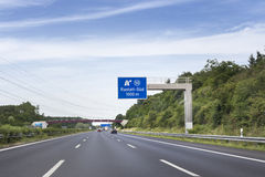 German highway Stock Image
