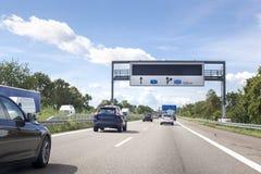 German highway Royalty Free Stock Photos