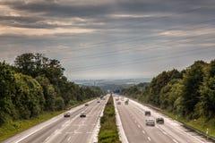 German HIghway Traffic Stock Photos