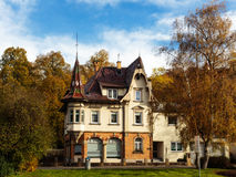 German Historical House Villa Royalty Free Stock Photography