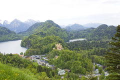 German Hohenschwangau Castle Royalty Free Stock Photo