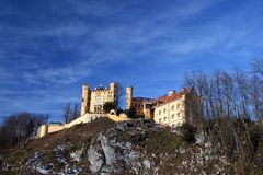 German hohenschwangau zamek Obraz Royalty Free