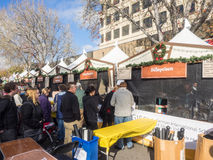 German Holiday Market Royalty Free Stock Images