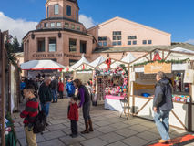 German Holiday Market Royalty Free Stock Photo