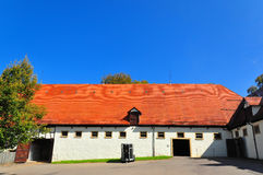 German horse ranch building Stock Images