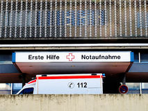 German hospital Stock Image