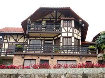 German house . Photo of a house of German architecture, Colonia Tovar, Venezuela , South America Stock Photography