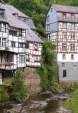 German houses. In Monschau germany Stock Image