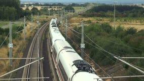 German ICE Highspeed train stock video