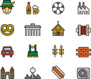 German icons Stock Images