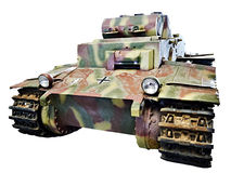 German infantry assault tank Panzer I PzKpfw I Ausf F isolated Stock Image