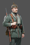 German infantryman during the first world war. Stock Photography