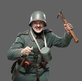 German infantryman during the first world war. Royalty Free Stock Photos