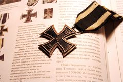 German world war I iron cross royalty free stock photo