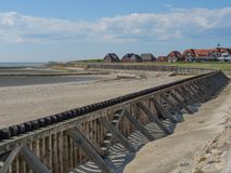 The german island of Baltrum. In the North sea royalty free stock images
