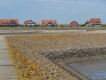 The german island of Baltrum. In the North sea royalty free stock photography