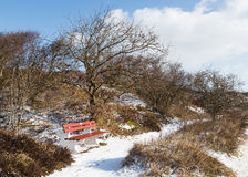 Spiekeroog in the winter Royalty Free Stock Image