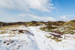 Spiekeroog in the winter Royalty Free Stock Photo