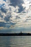 German jeziora constance fotografia stock