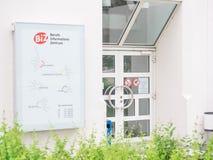 German Job Information center Stock Images
