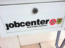 German Jobcenter logo Stock Photography
