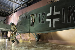 German junker ju 52 Stock Image
