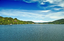 German lake Titisee Royalty Free Stock Photography