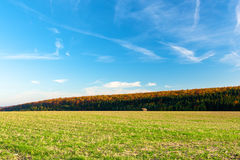German landscape. Autumn landscape from Germany Stock Photos