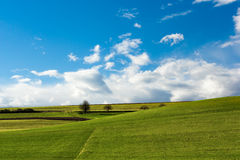 German landscape. Autumn landscape from Germany Royalty Free Stock Photo