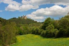 German landscape - castle ruin Stock Photo