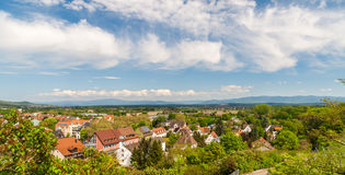 German landscape near Breisach - Baden-Wurttemberg Royalty Free Stock Photo