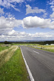 German landscape and road on summer drive Stock Photos