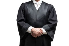 Free German Lawyer With A Robe Royalty Free Stock Photography - 158696647