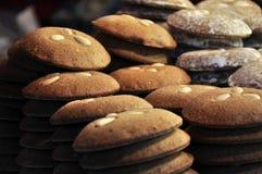 German Lebkuchen. Famous German Gingerbread as found in Nuremberg stock photos