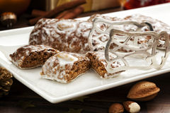 German Lebkuchen Christmas Cookies Royalty Free Stock Images