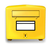 German letter box Stock Photography
