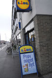 German lidl chain store Stock Images