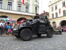 German light armoured reconnaissance vehicle SdKfz 222 from Seco Stock Photography