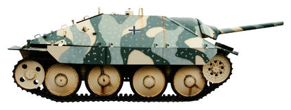 German light tank destroyer of the WWII Royalty Free Stock Photos